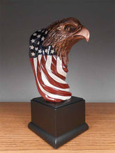 Eagle Head w/Flag