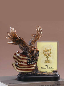 Eagle Frame w/Flag #51149