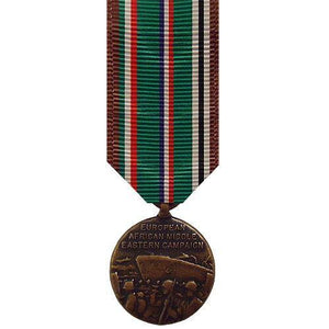 Miniature Medal: European African Middle East Campaign