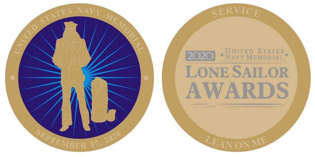 2020 Lone Sailor Awards Commemorative Challenge Coin