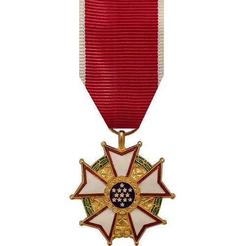 MINIATURE MEDAL: LEGION OF MERIT