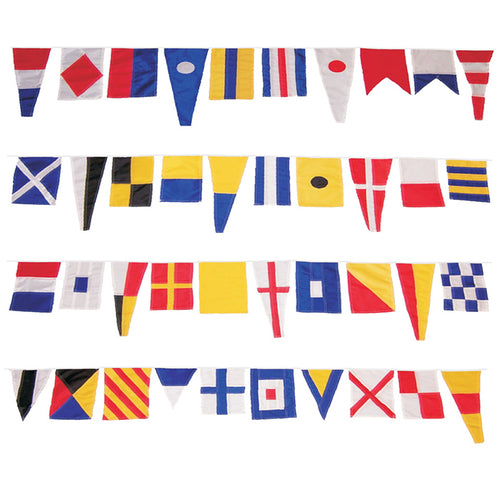40 Piece Maritime Signal Flags On String