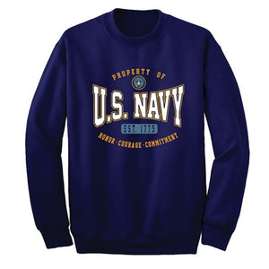 U.S. Navy Crew Neck Sweatshirt