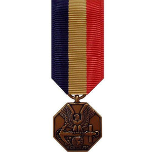 Miniature Medal: Navy And Marine Corps Medal