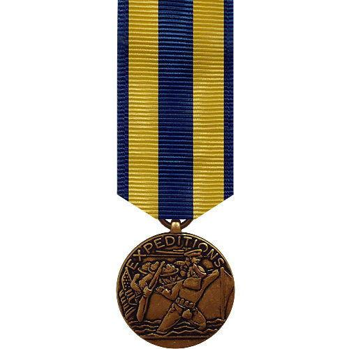 NAVY MINIATURE MEDAL: EXPEDITIONARY