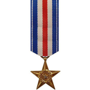 MINIATURE MEDAL: SILVER STAR