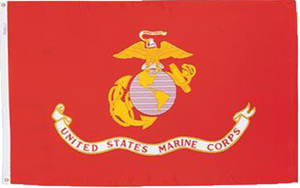 3' x 5' Nylon US Marine Corps Flag Flown Over the Navy Memorial