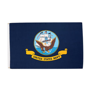 3' x 5' Nylon US Navy Flag Flown Over the Navy Memorial
