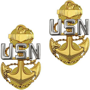 NAVY COAT DEVICE: E7 CHIEF PETTY OFFICER