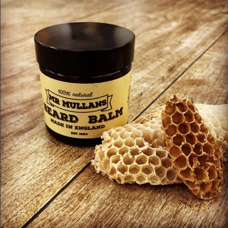 natural beard balm made by hand using natural ingredients