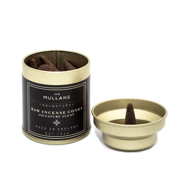 RAW INCENSE CONES - SIGNATURE SCENT *LIMITED EDITION!, incense, Mr Mullan's, mrmullansapothecary, [variant_title], [option1], [option2], [option3]. We recommend using the default value. Default value is: RAW INCENSE CONES - SIGNATURE SCENT *LIMITED EDITION! - mrmullansapothecary.