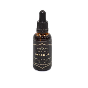 MR MULLAN'S BEARD OIL, beard, Mr Mullan's, mrmullansapothecary, [variant_title], [option1], [option2], [option3]. We recommend using the default value. Default value is: MR MULLAN'S BEARD OIL - mrmullansapothecary.
