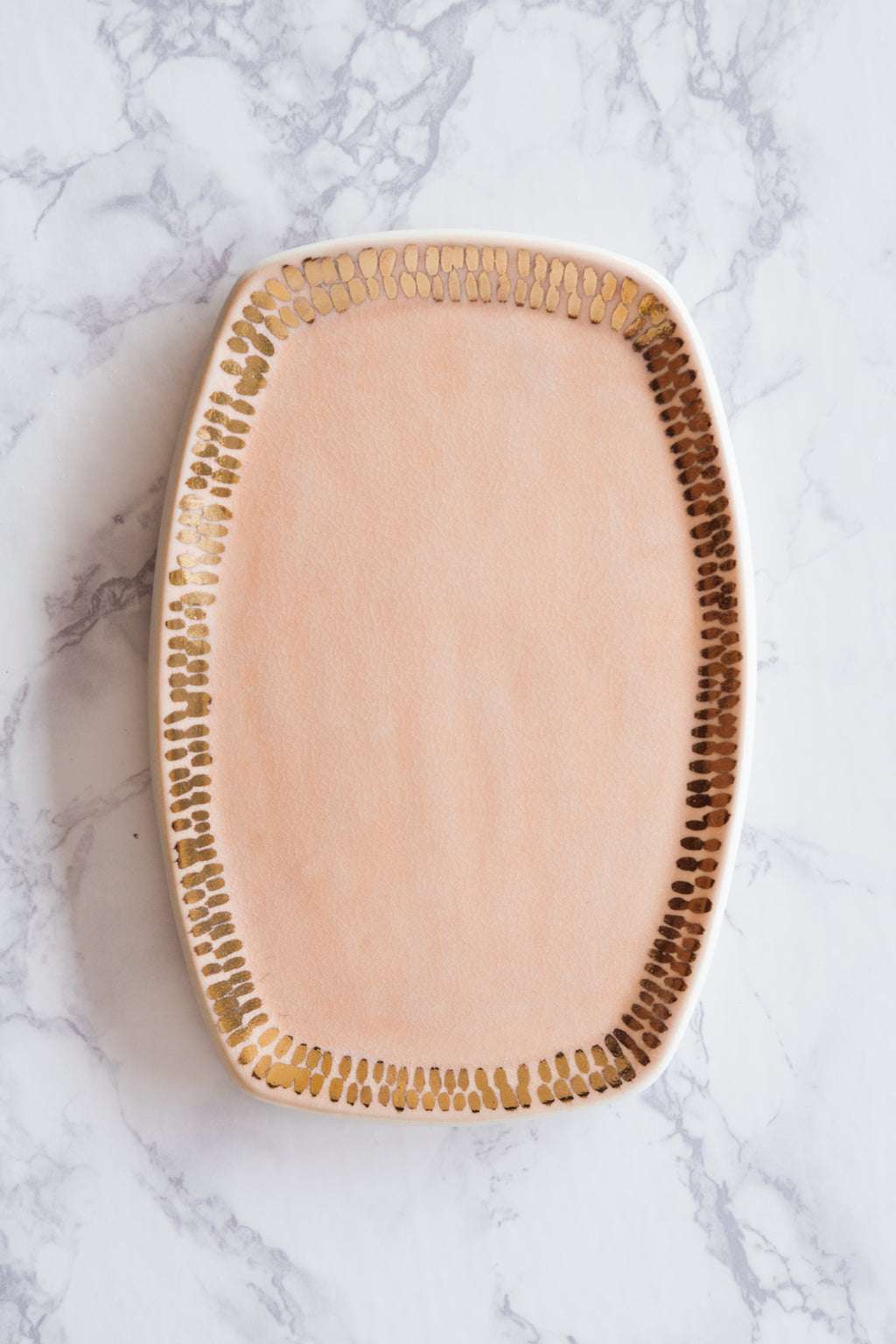 Blush & Gold Tray - The Object Enthusiast