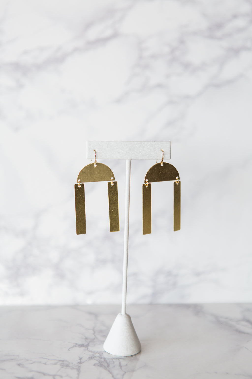 Double Bar Earrings - M Street Studio
