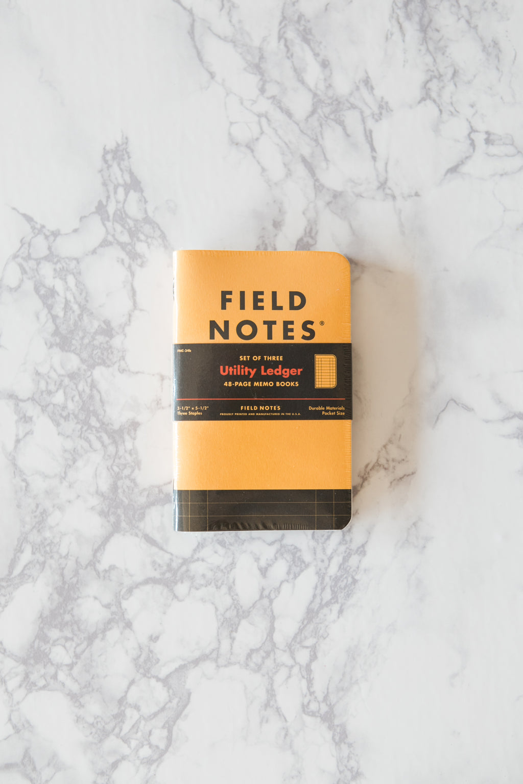 Utility Ledger Memo Books - Field Notes