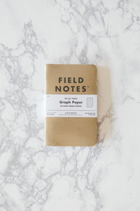 Graph Paper Memo Books - Field Notes