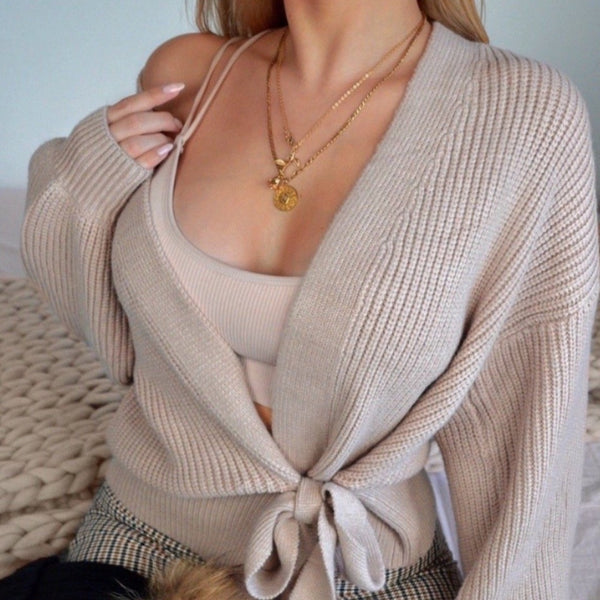 Soft Wrap Cardigan
