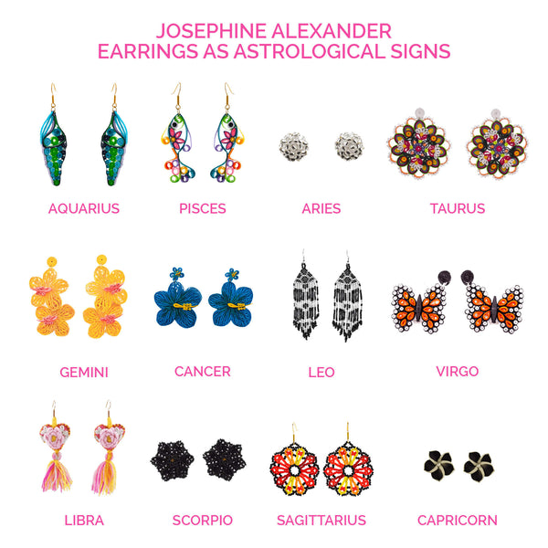 Shop Earrings By Zodiac Sign