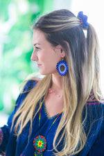 Beaded Estrella Necklace in Midnight - Josephine Alexander Collective