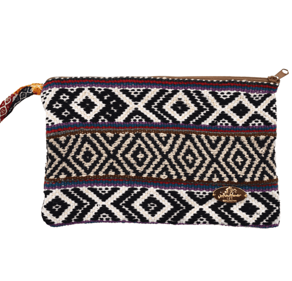 Iliana Large Woven Clutch # 1 - Josephine Alexander Collective