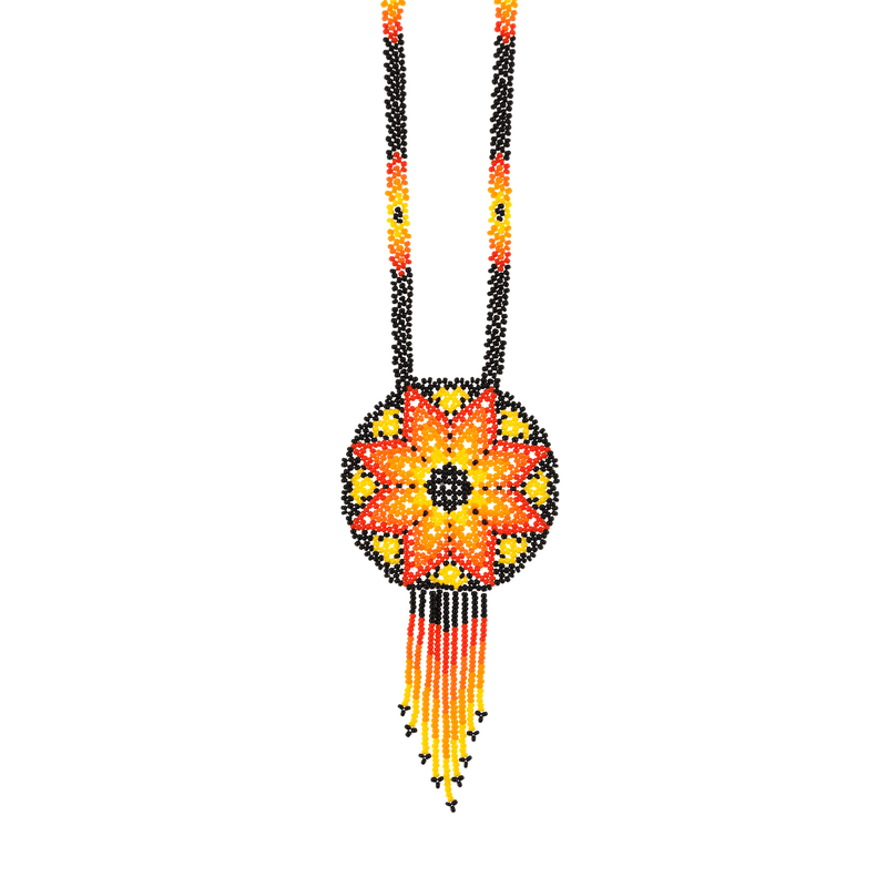 Beaded Estrella Necklace in Sun - Josephine Alexander Collective