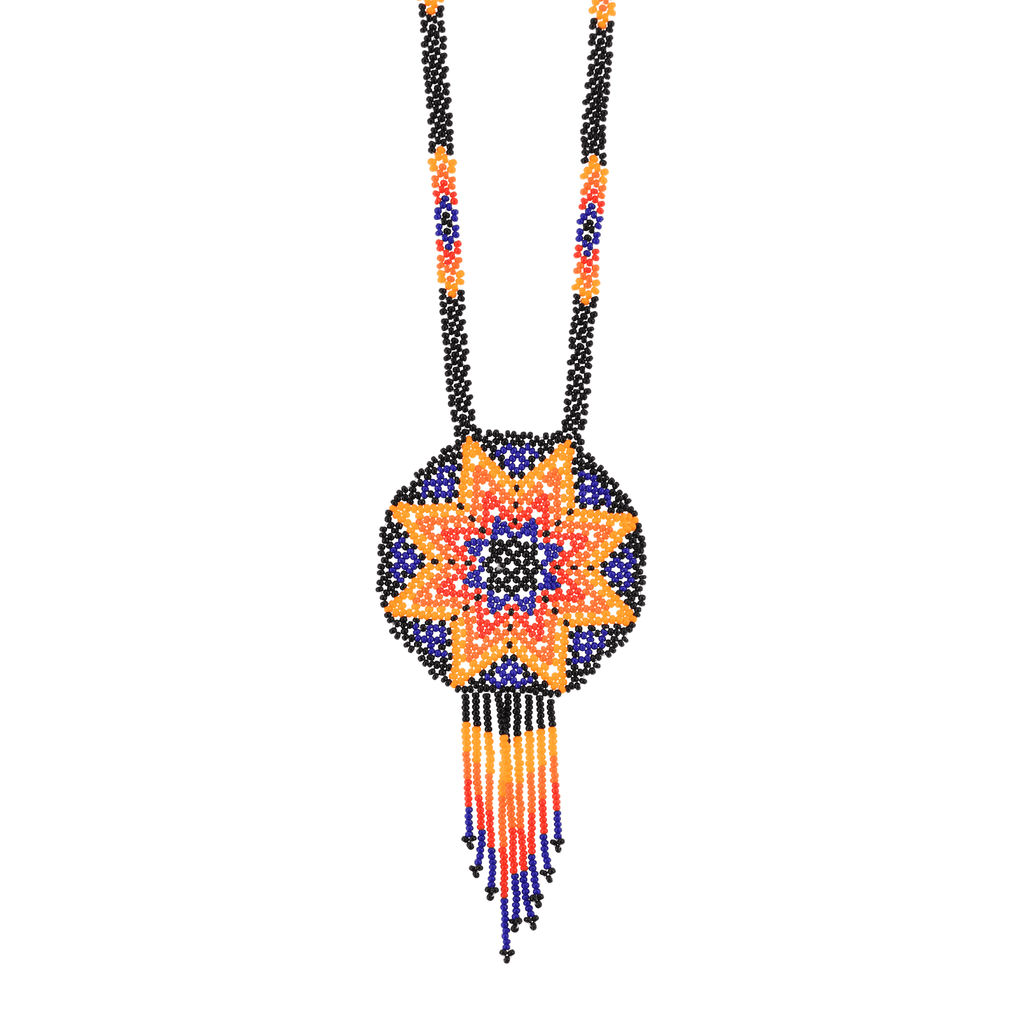 Beaded Estrella Necklace in Horizon - Josephine Alexander Collective