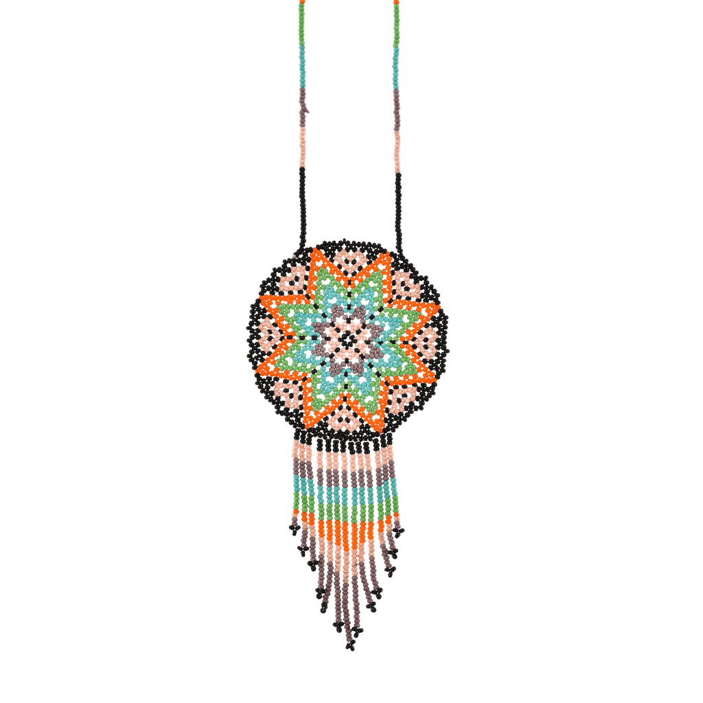 Beaded Estrella Necklace in Desert Sky - Josephine Alexander Collective