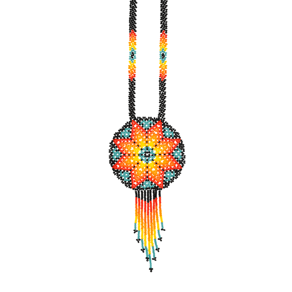 Beaded Estrella Necklace in Desert Sun - Josephine Alexander Collective