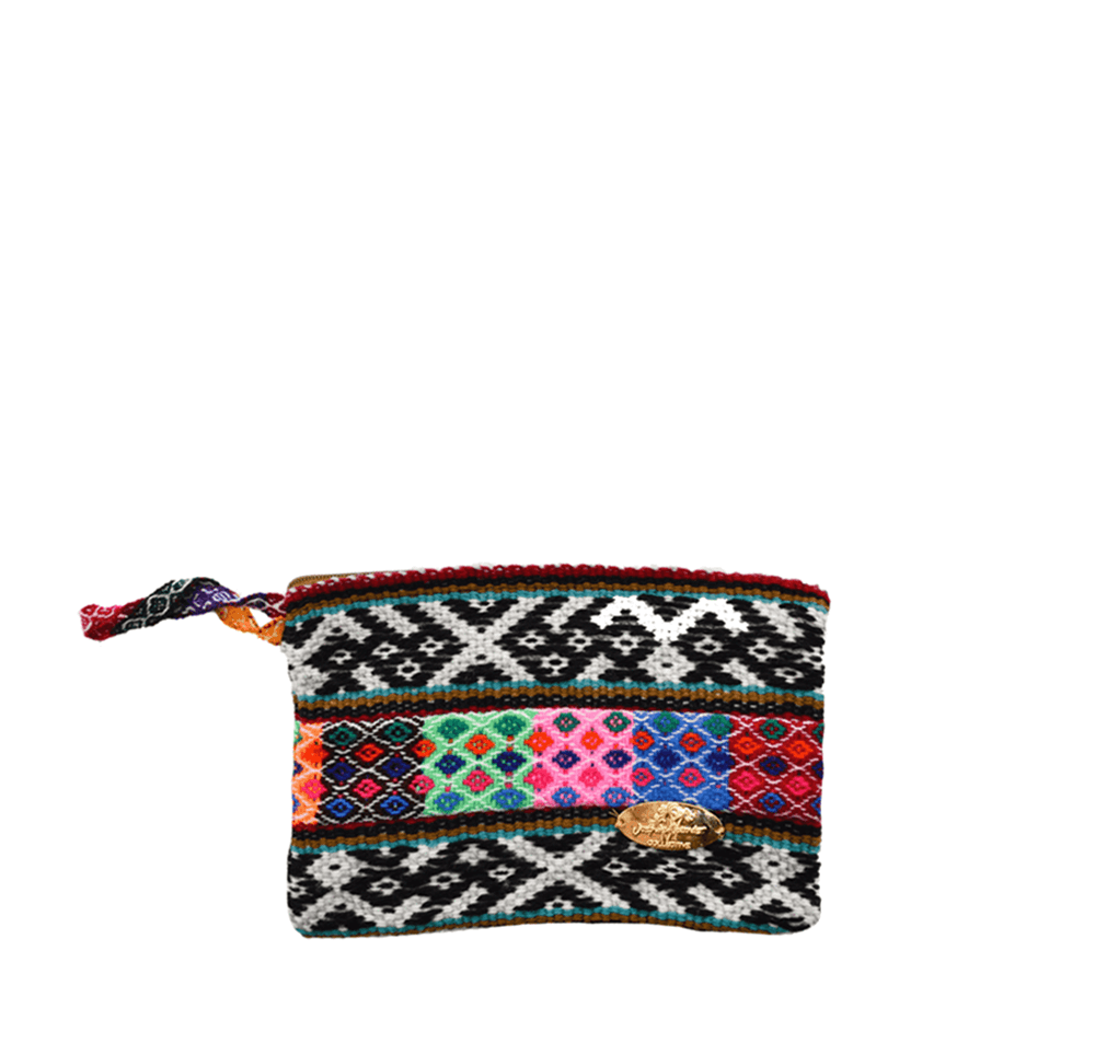 Iliana Small Woven Clutch # 2 - Josephine Alexander Collective