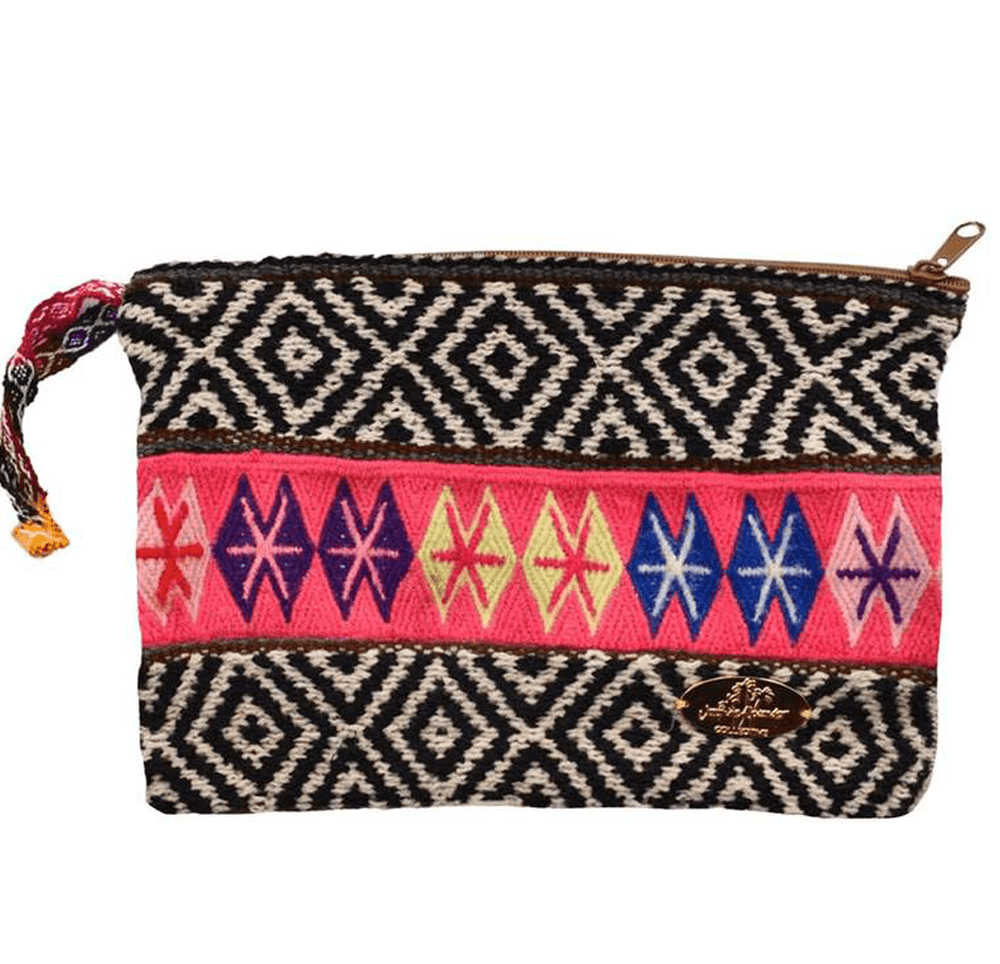 Iliana Large Woven Clutch # 3 - Josephine Alexander Collective