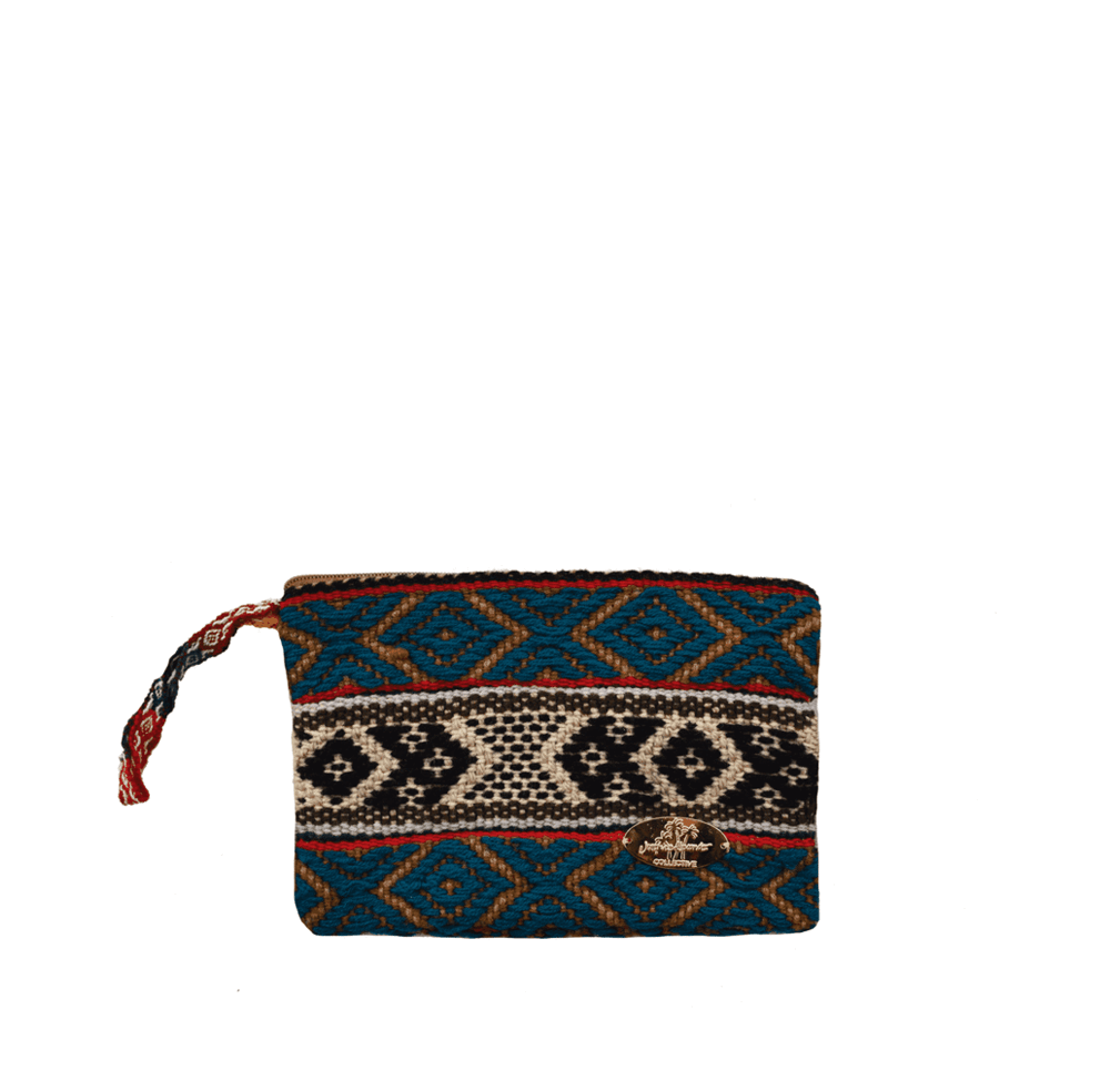 Iliana Small Woven Clutch # 3 - Josephine Alexander Collective