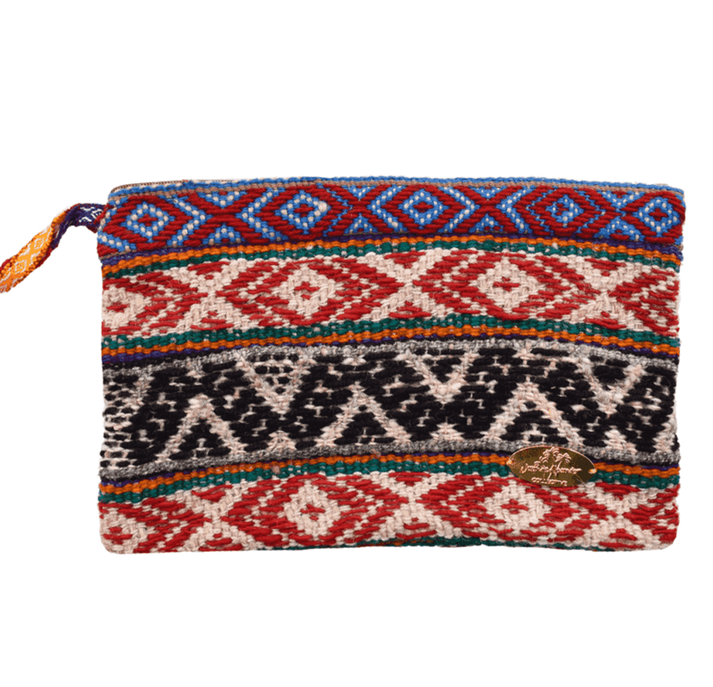 Iliana Large Woven Clutch # 4 - Josephine Alexander Collective