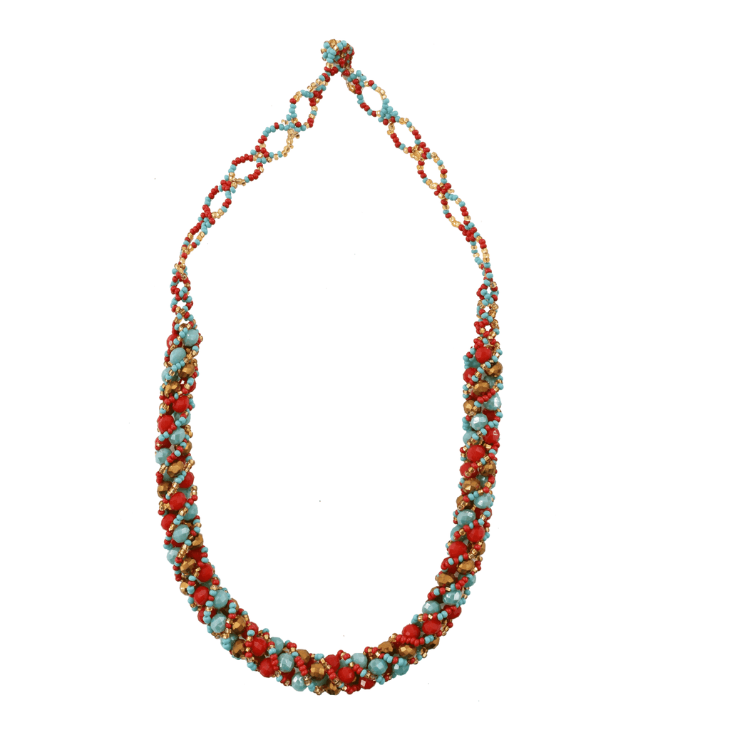 Twirl Necklace # 7 - Josephine Alexander Collective