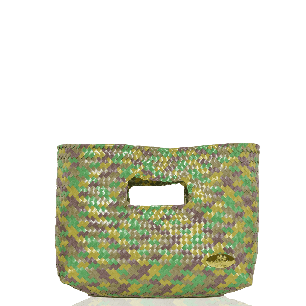 Alison Woven Clutch in Camo - Josephine Alexander Collective