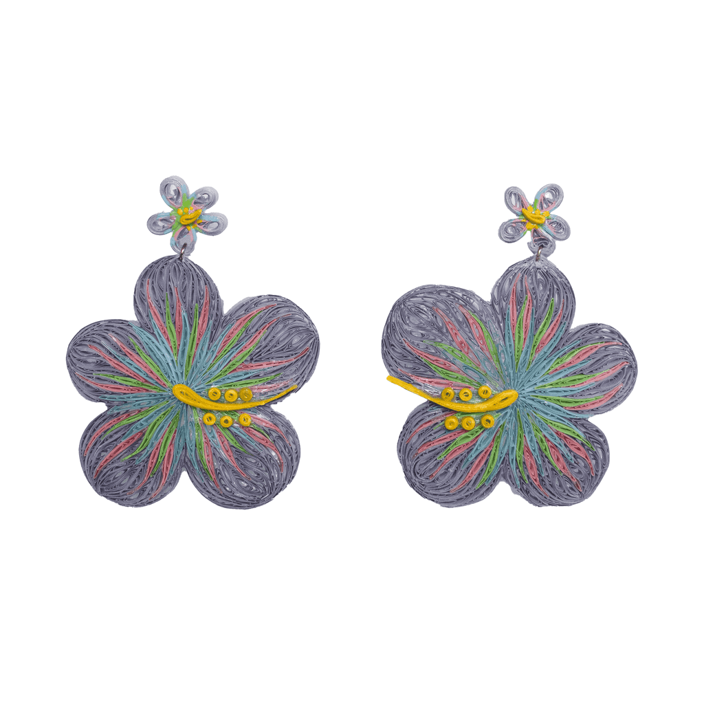 Aloha Earrings in Cosmos - Josephine Alexander Collective
