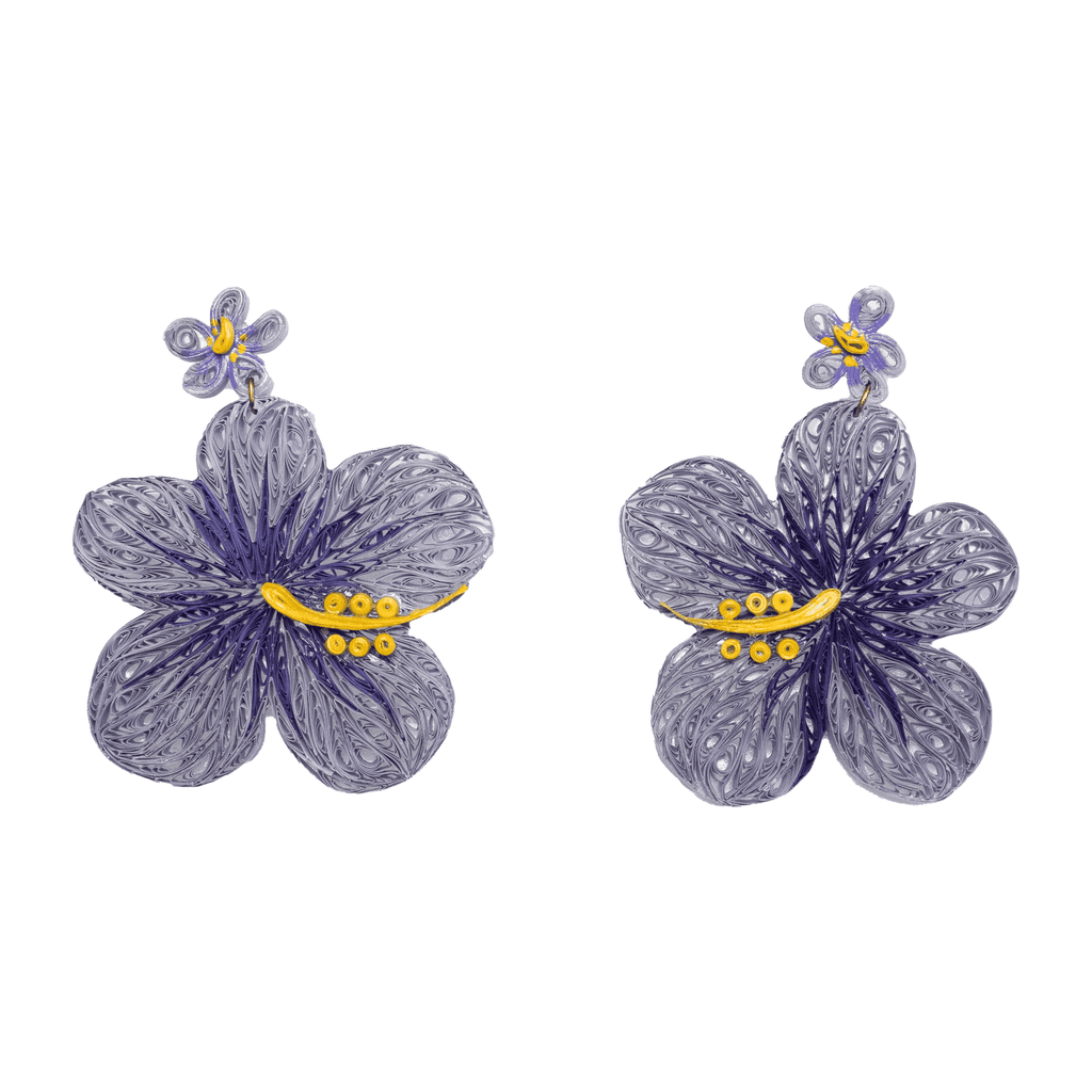 Aloha Earrings in Lavender - Josephine Alexander Collective