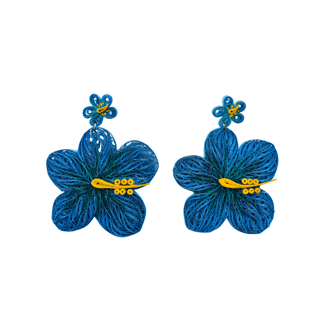 Aloha Earrings in Surf