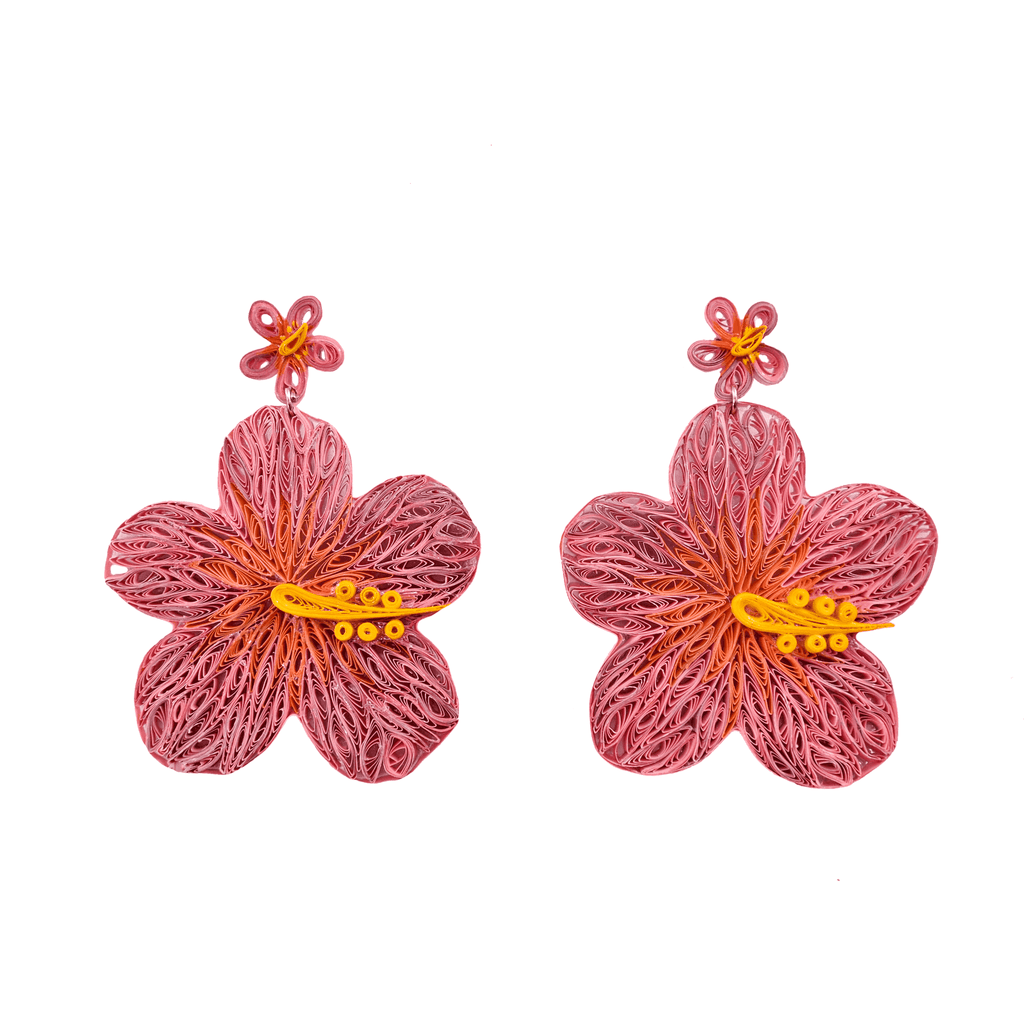 Aloha Earrings in Blush - Josephine Alexander Collective