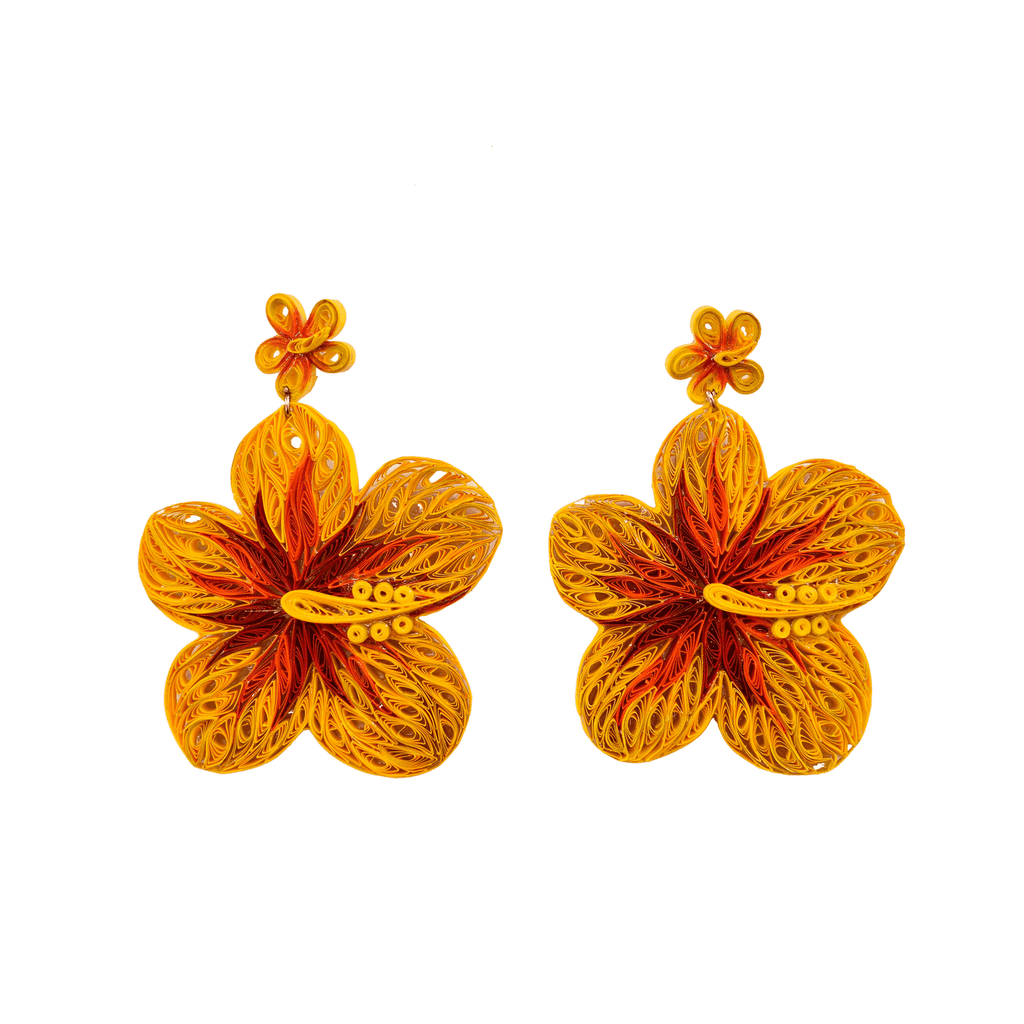 Aloha Earrings in Sunset - Josephine Alexander Collective