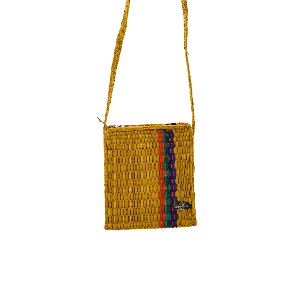 Basket Crossbody in Mango Salsa