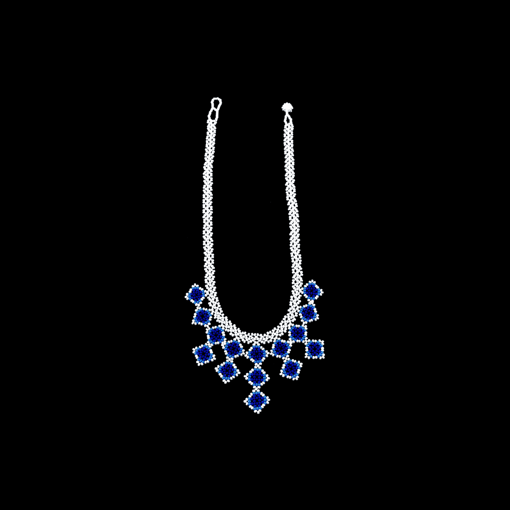 Beaded Tile Necklace in Talavera