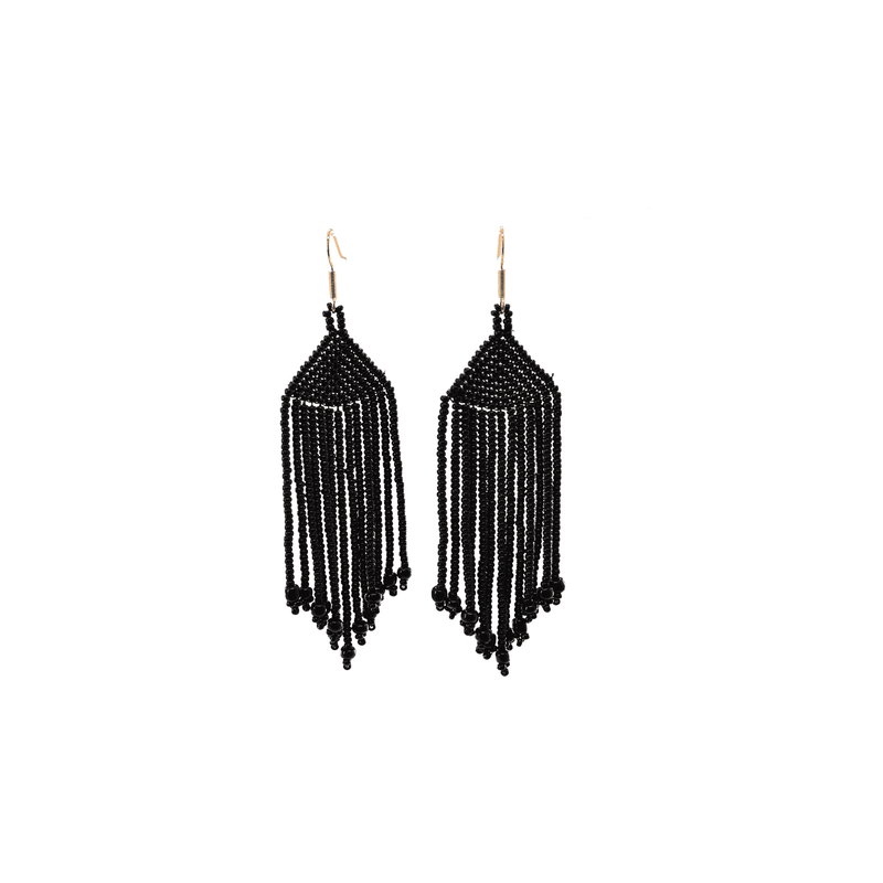 Wild Earrings in Black Panther - Josephine Alexander Collective