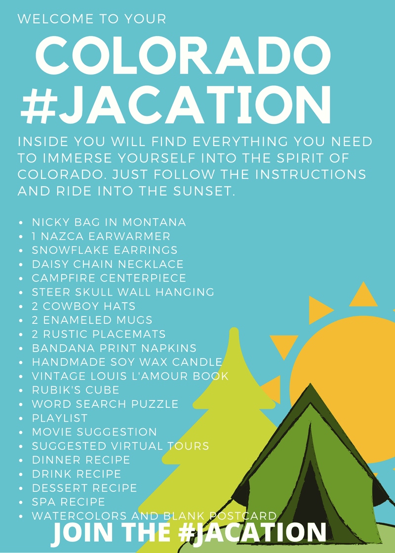 #JACation in a Bag - Colorado - Josephine Alexander Collective