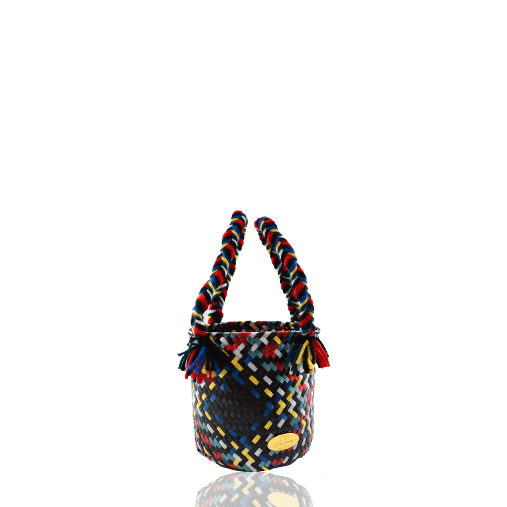 Mini Plaid Bucket Bag in Carrie - Josephine Alexander Collective