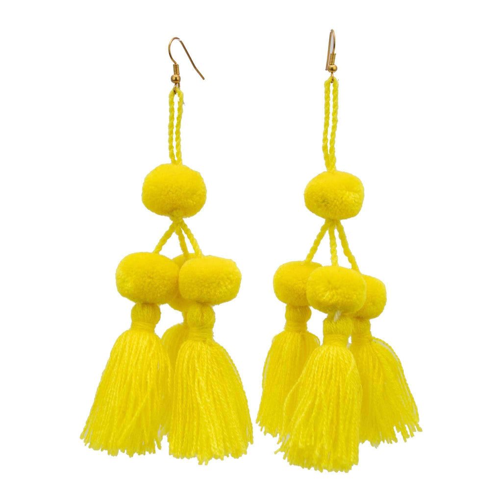 Camello Earrings in Yellow