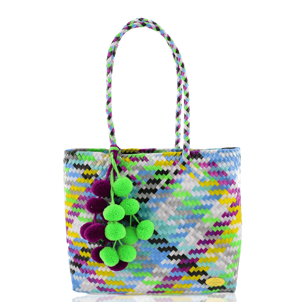 Carnaval Bag in Green Glo
