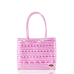 Chila Woven Bag in Be Mine