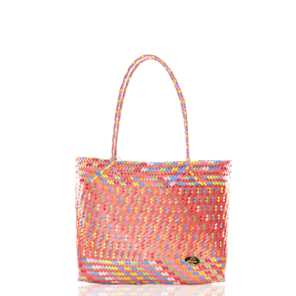 Chila Woven Bag Multi Orange - Josephine Alexander Collective