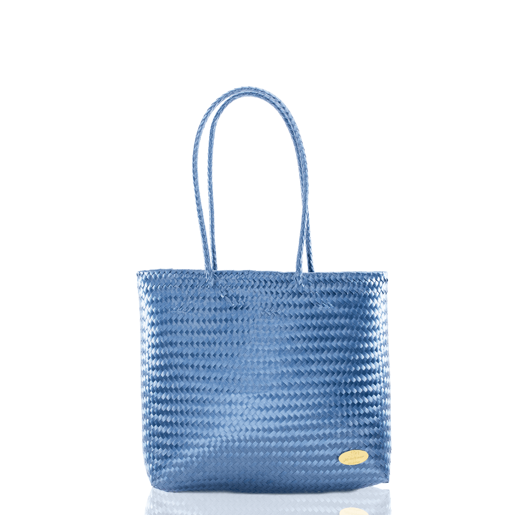 Chila Woven Bag in Navy - Josephine Alexander Collective
