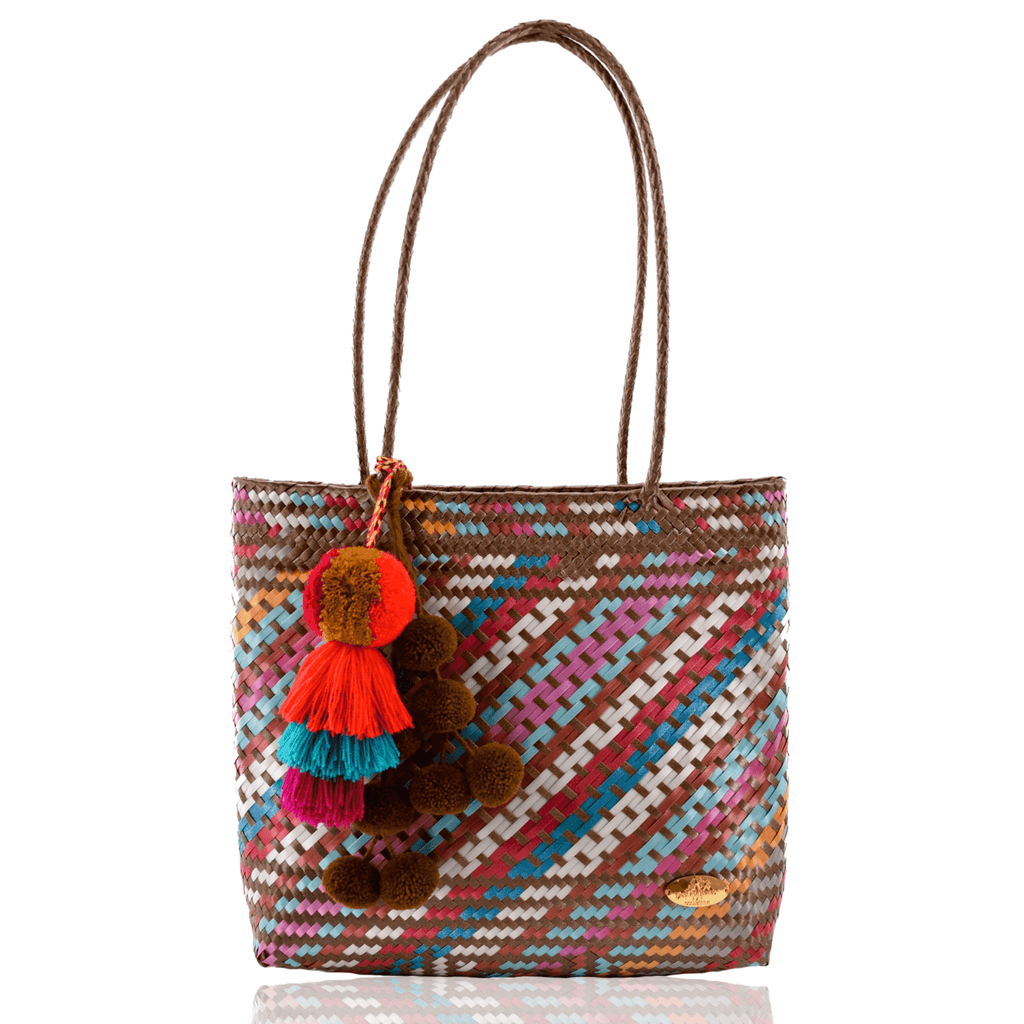Carnaval Bag in Copper Rainbow